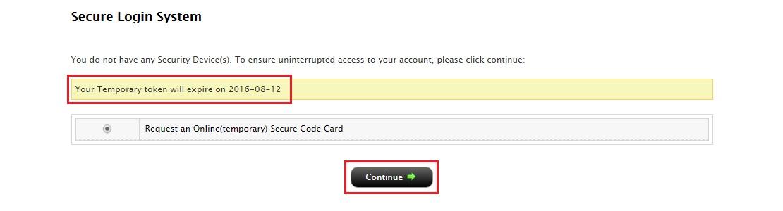 Interactive brokers login card