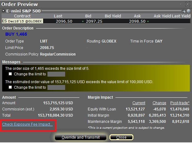 Interactive broker forex margin