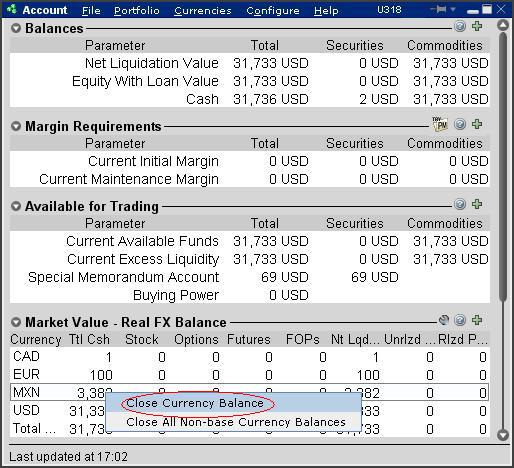Converting Currency Balances | staging