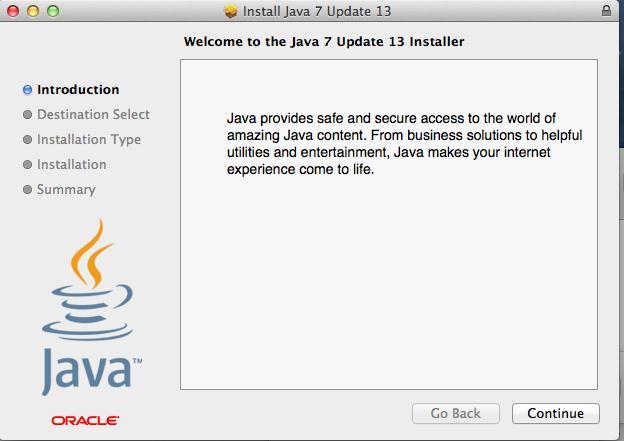 installer java mac