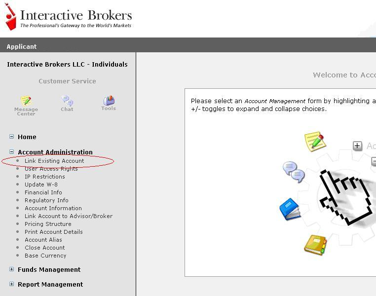 Interactive brokers account management user guide